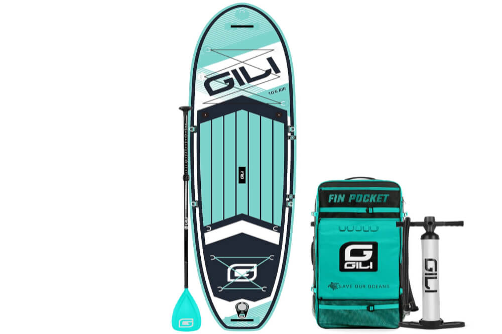 GILI 10'6 Air Large Traction Deck