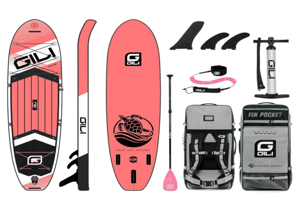GILI Air Paddle Board Bundle Accessories